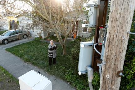 Residents Rebel Against Verizon S Quot Godzilla Quot Small Cell