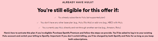 Spotify Premium Customers Get Free Hulu Starting Today ·