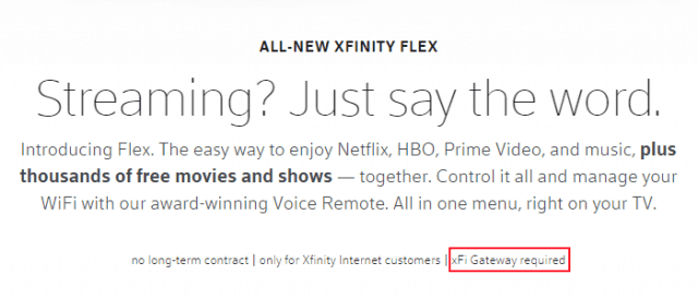 Comcast Introduces $5/mo Flex Streaming Device for Cord