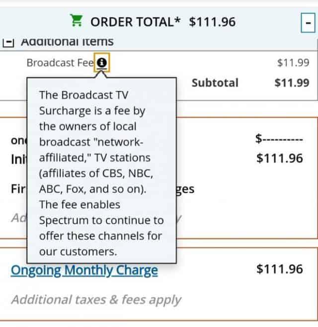 Charter Spectrum Finally Shows $11 99