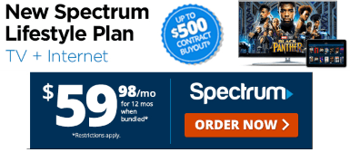 Spectrum Starts Selling Discounted $19 99/Mo
