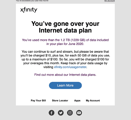Stop The Cap How Generous Comcast Slaps The Caps Back On Ups Allowance To 1 2 Tb A Month
